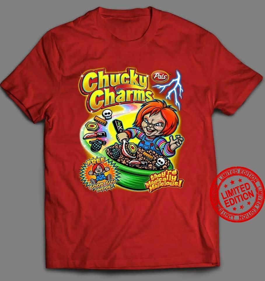 Chucky Pals Charms Free Good Guy Inside Shirt