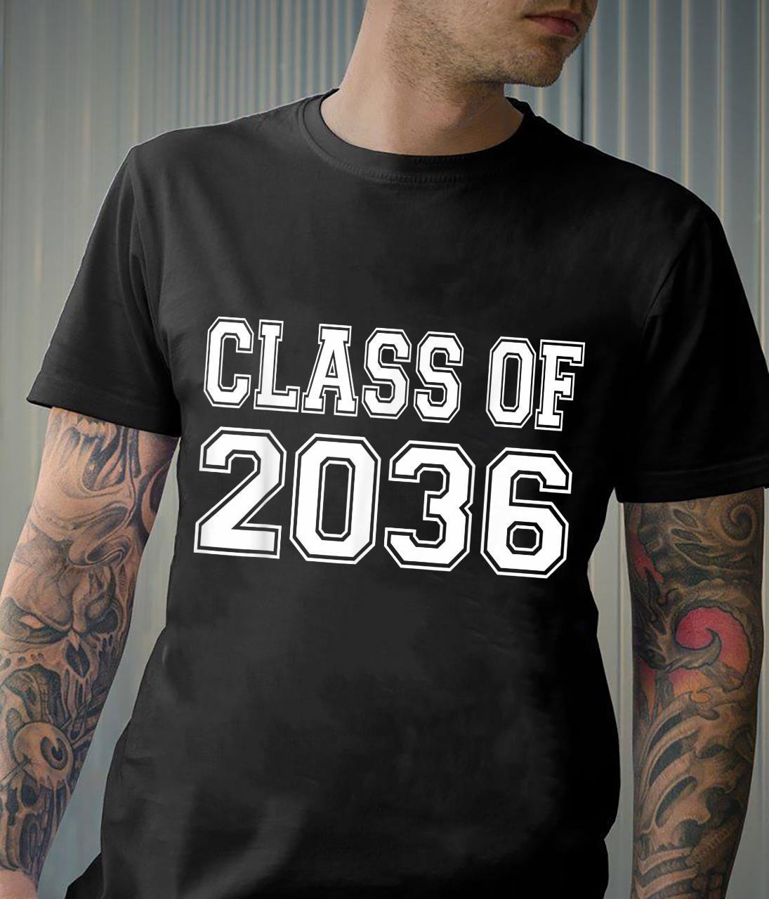Class of 2036 grow with me Shirt
