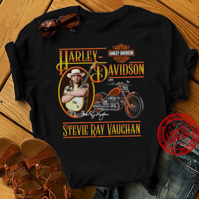 Harley Davidson Stevie Ray Vauchan Shirt