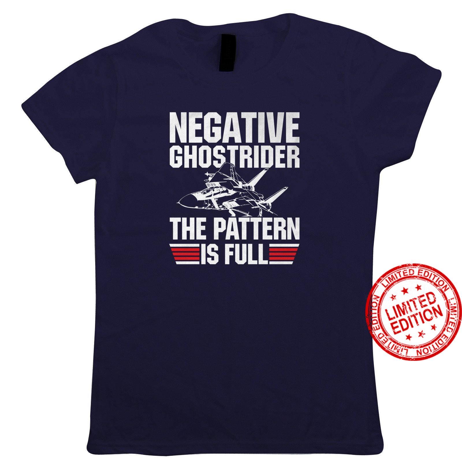 Negative Ghost Rider Top Gun Movie Inspired Shirt