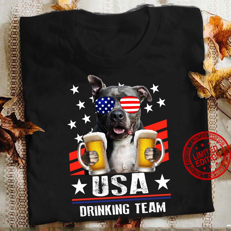 Pitbull USA Drinking Team Shirt