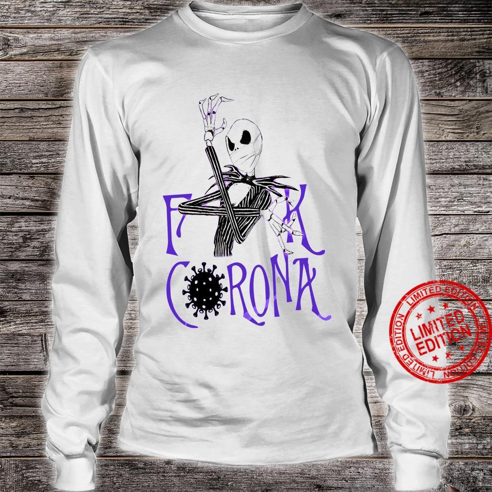 Skeleton Fuck Corona Shirt long sleeved