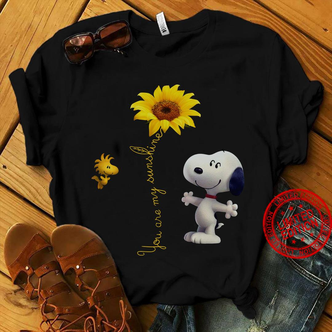 Snoopy You Are My Sunshine Shirt