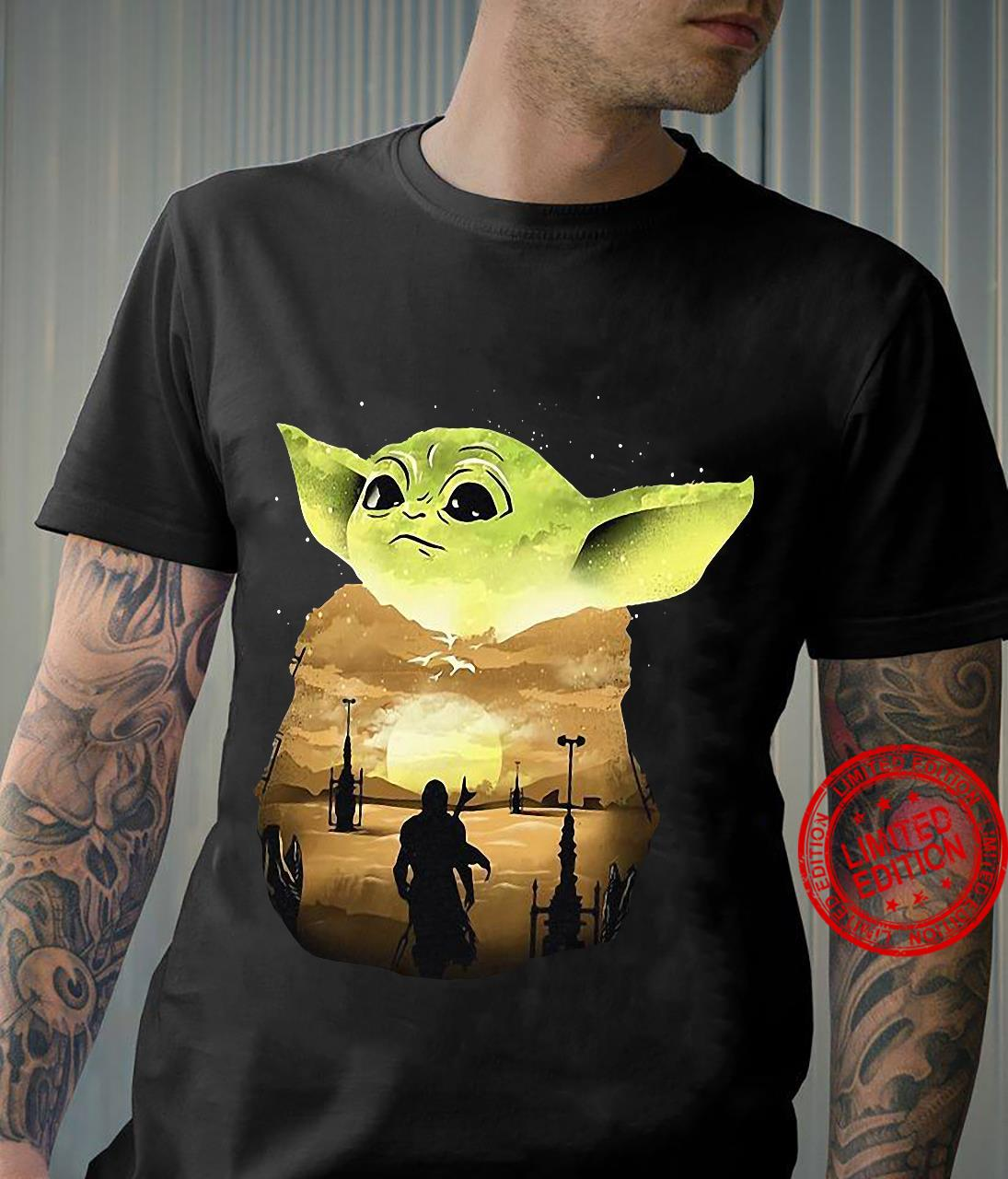 Star Wars Baby Yoda The Mandaloria The Child Shirt