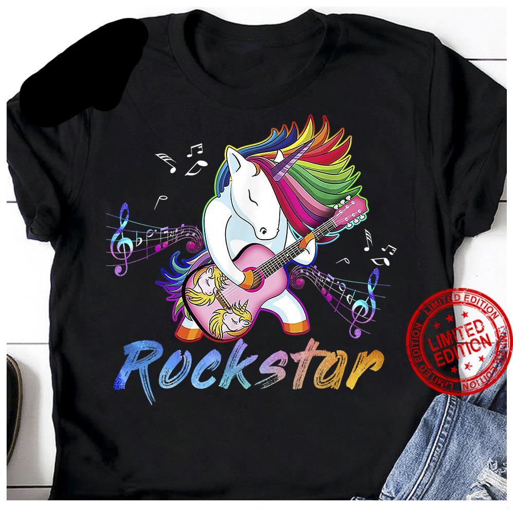 Unicorn Rockstar Shirt