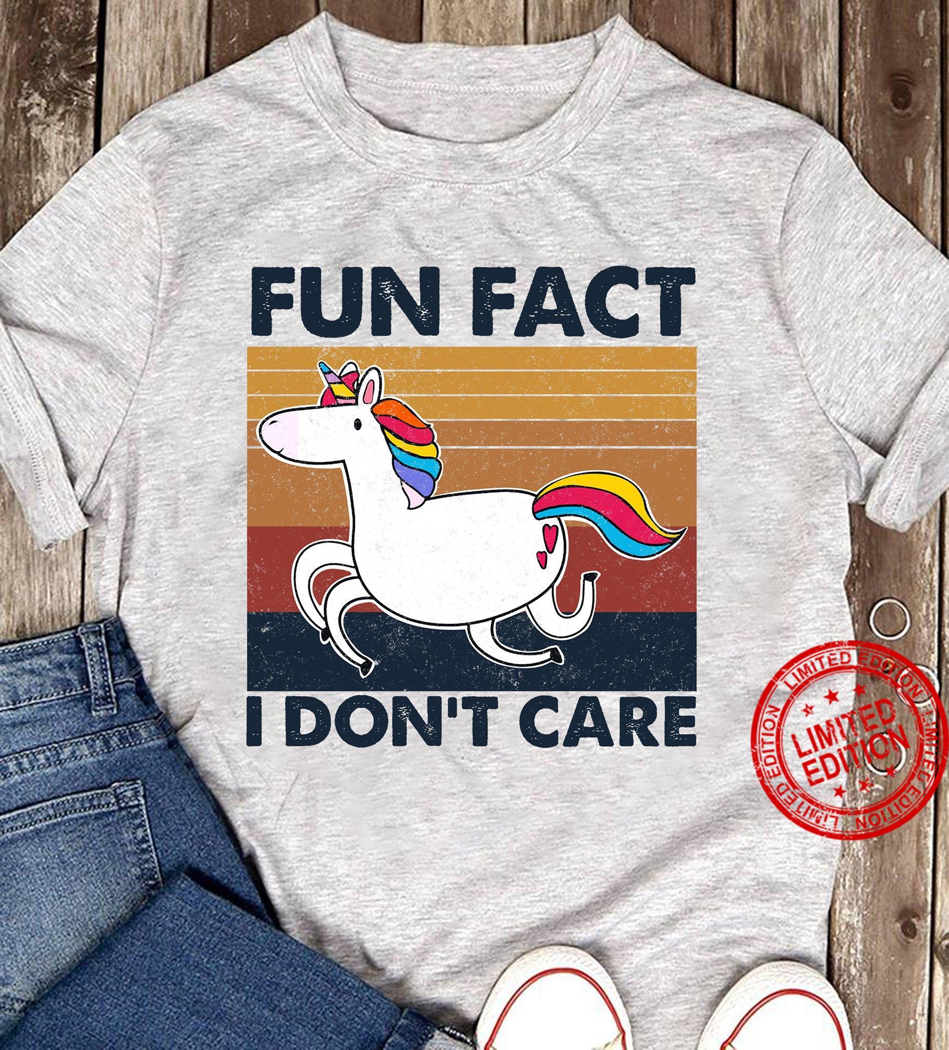 Unicron Fun Fact I Don't Care Shirt