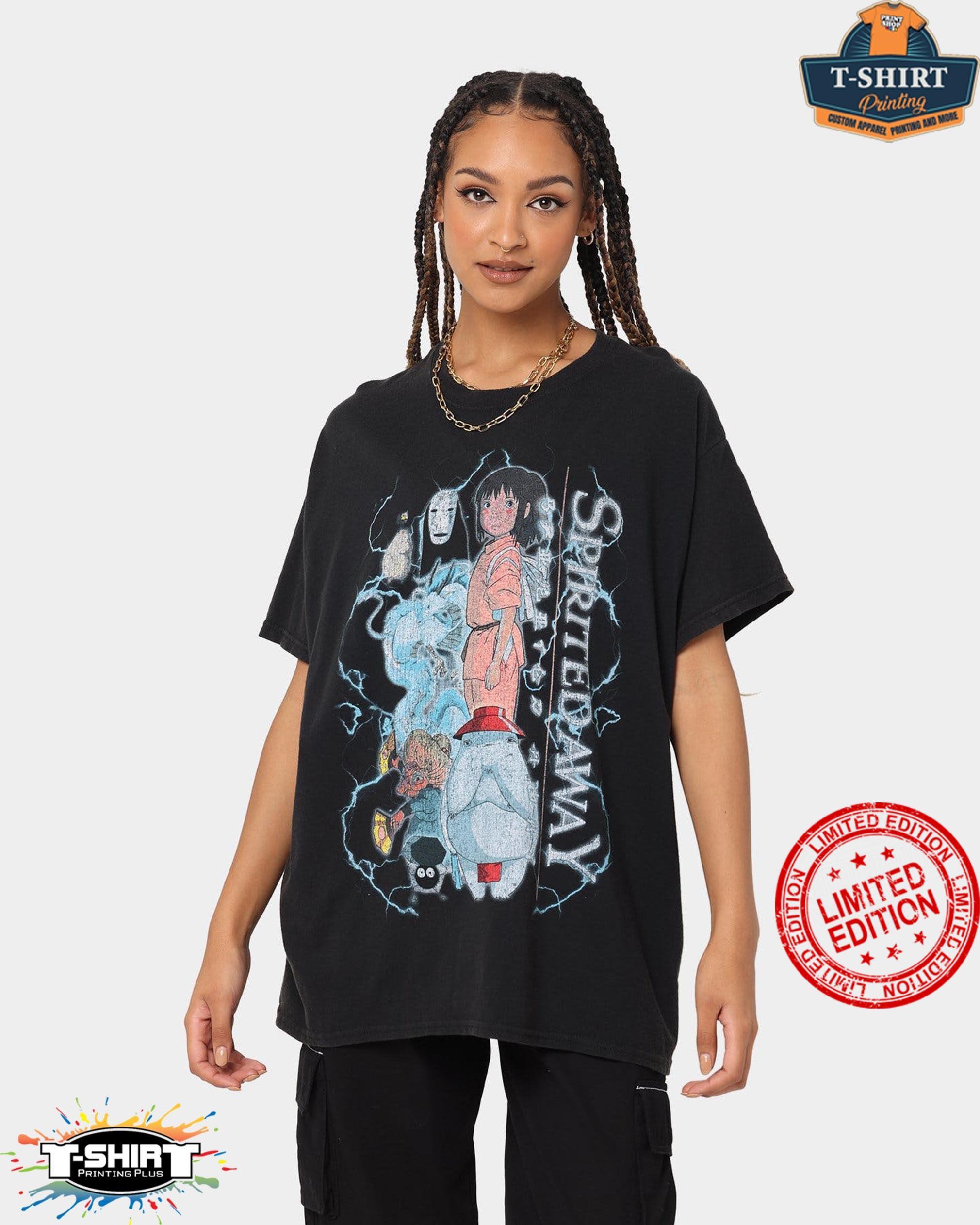 Vintage Spirited Away , Sen to Chihiro Vintage Shirt