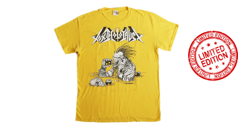 Vintage TOXIC HOLOCAUST Portland Heavy Metal Band Shirt