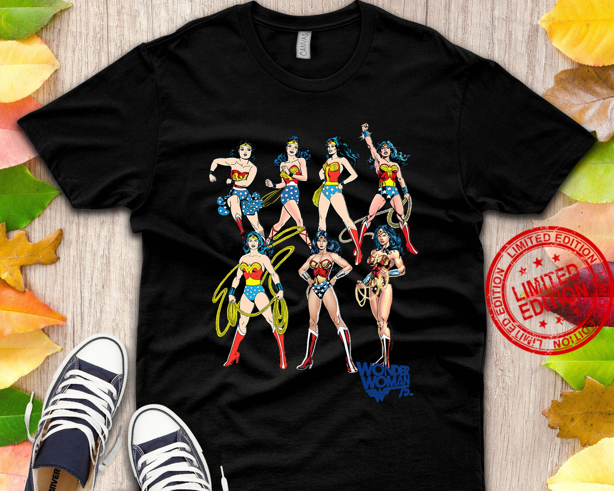Wonder Woman Decades Later Shirt