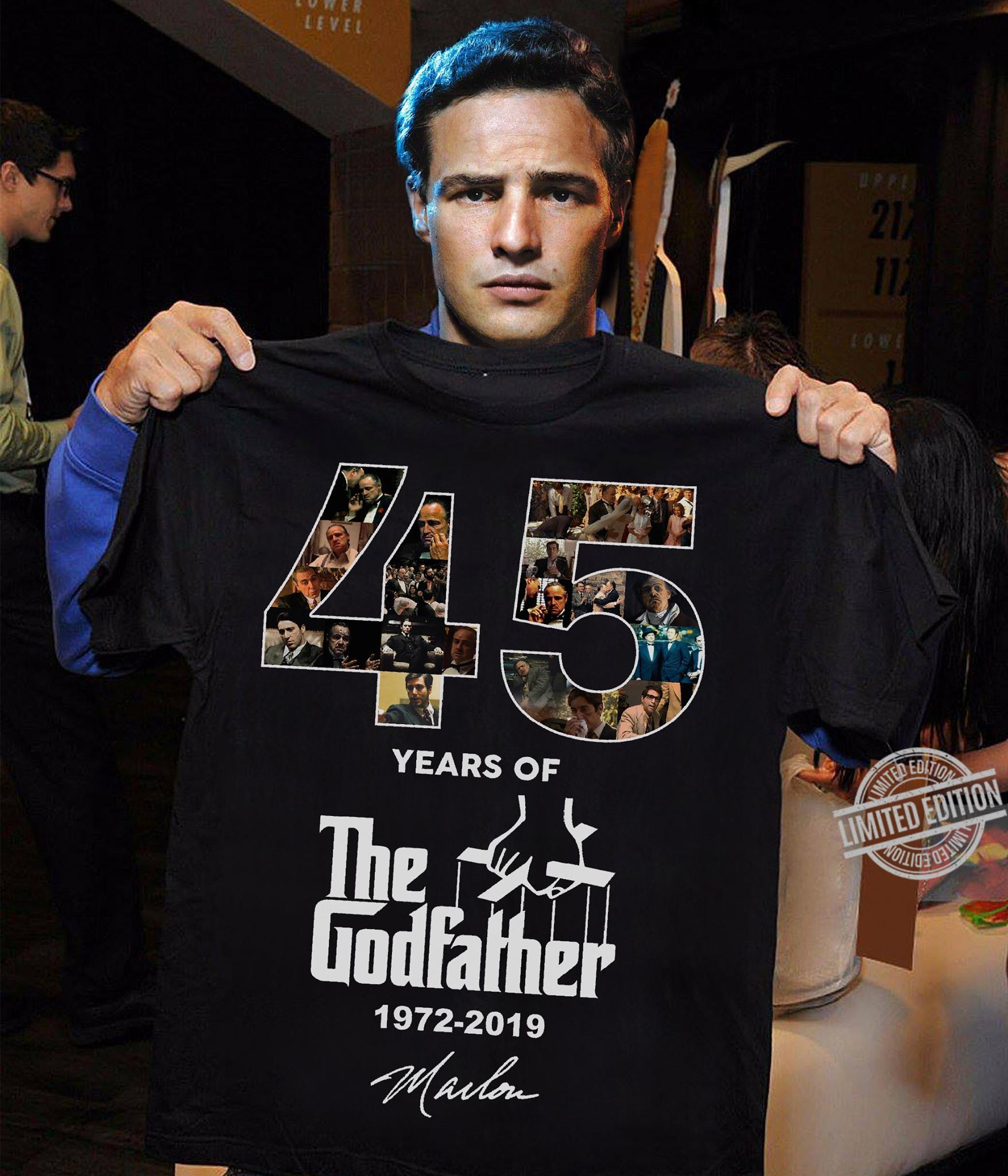 45 Years Of The Godfather Signature Shirt