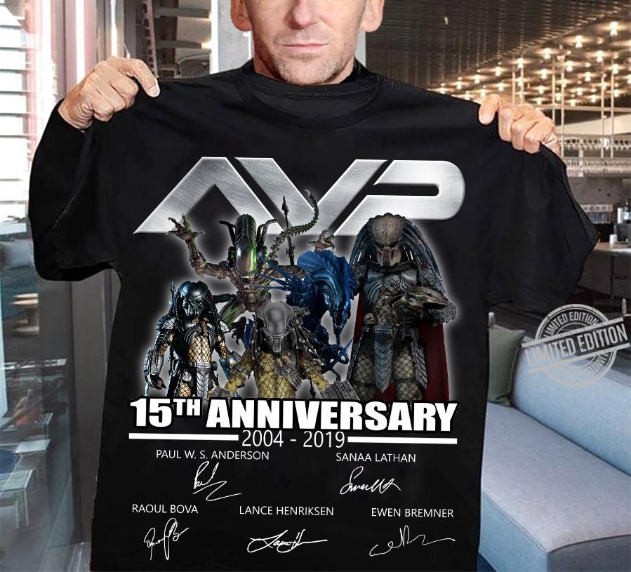 AVP 15th Anniversary Signature Shirt