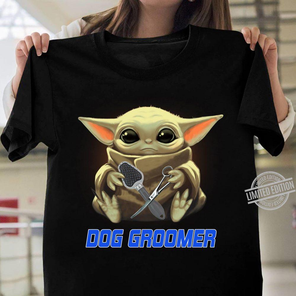 Baby Yoda And Groomer Shirt