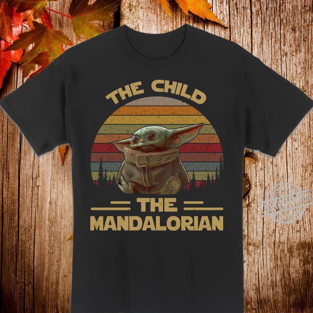 Baby Yoda the child the Mandalorian vintage Shirt