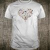 Cat heart shirt
