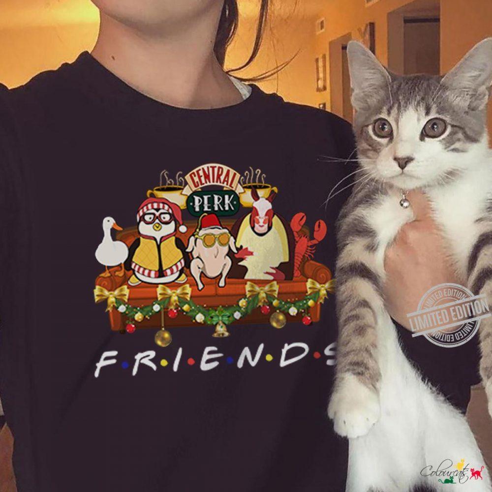 Central Perk Friends Thanksgiving Shirt