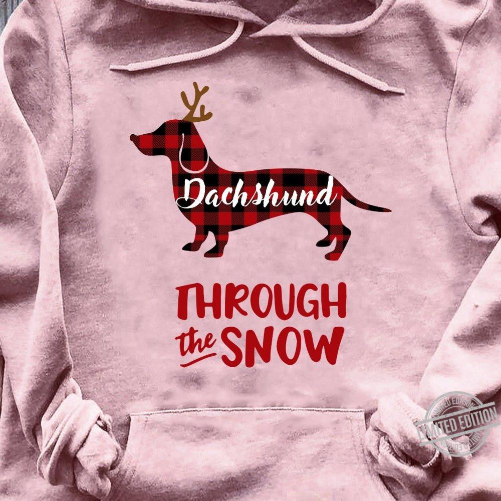 Dashshund Through The Snow Shirt