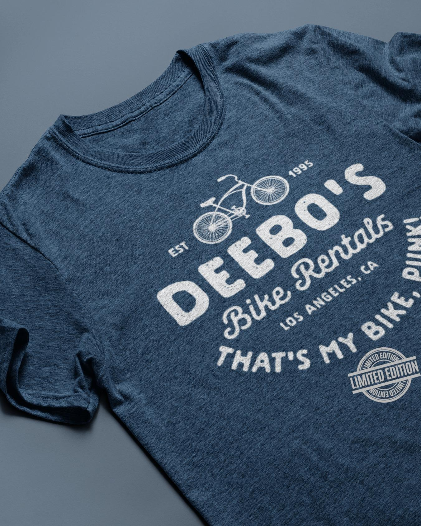 Est 1995 Deebo's Bike Rentals Los Angeles That's My Bike Punk Shirt