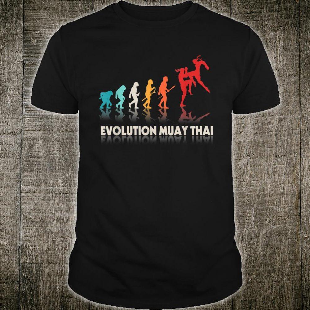 Evolution Muay Thai Fighting Martial Art Combat Shirt