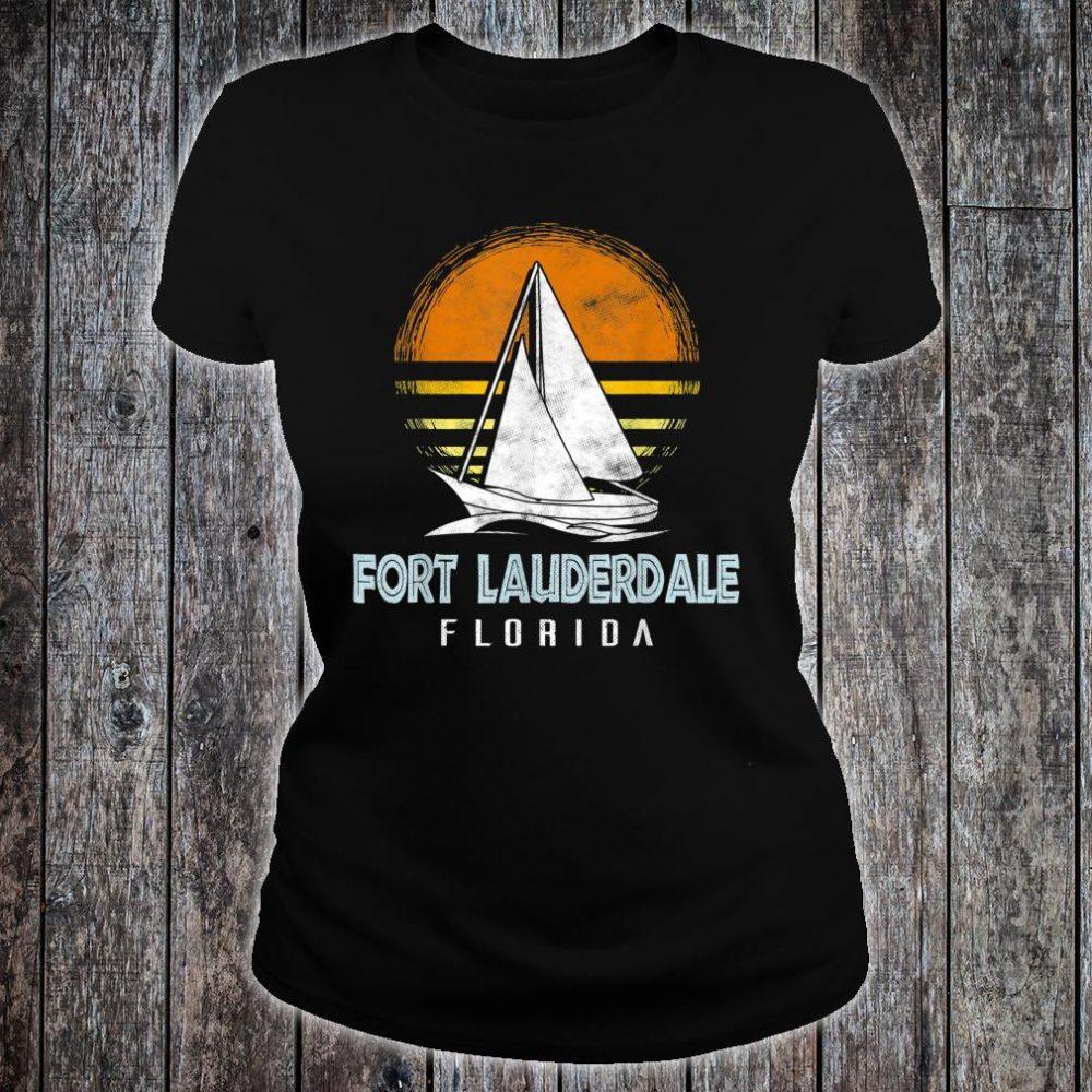 Fort Lauderdale Florida Shirt ladies tee