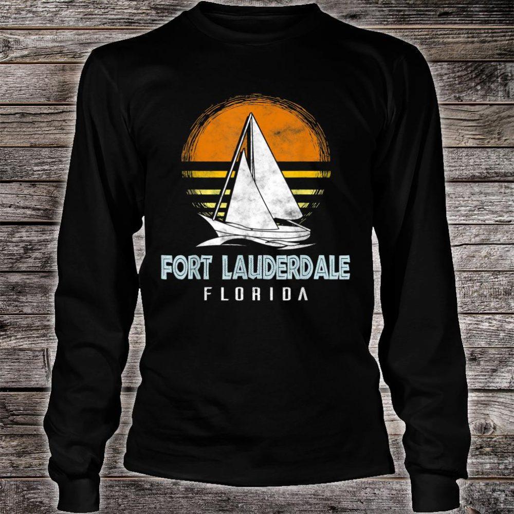 Fort Lauderdale Florida Shirt long sleeved