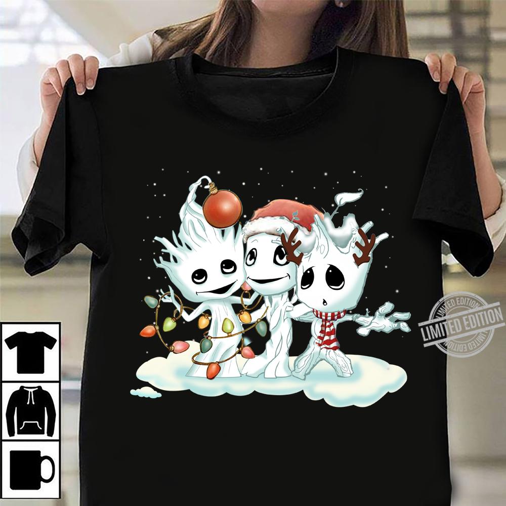 Groot Snowmans Christmas Shirt