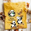 Happy Thanksgiving With Panda Shirt