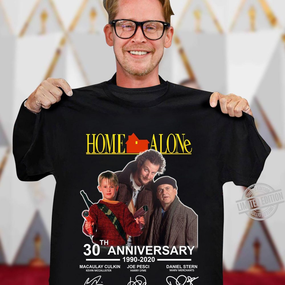 Home Alone 30th Anniversary Signature Shirt