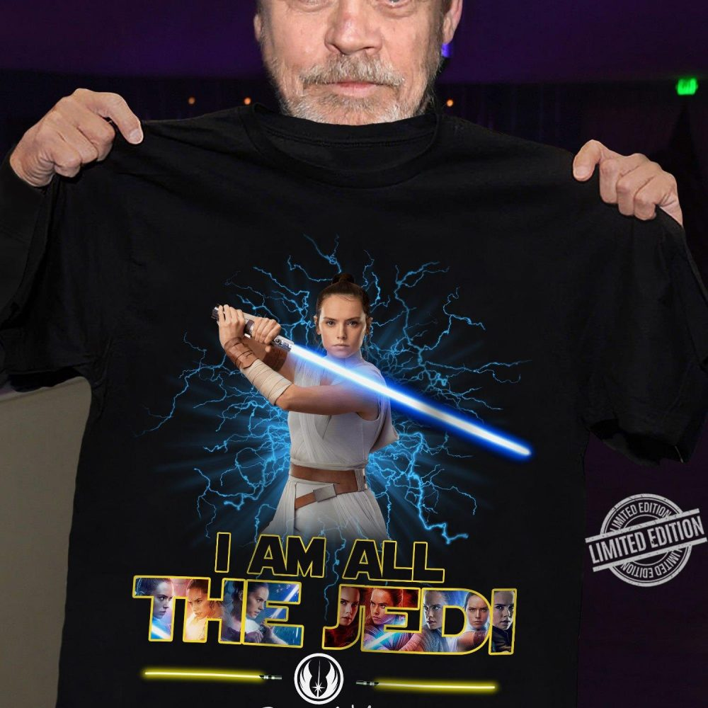 Iam All The Jedi Signature Shirt
