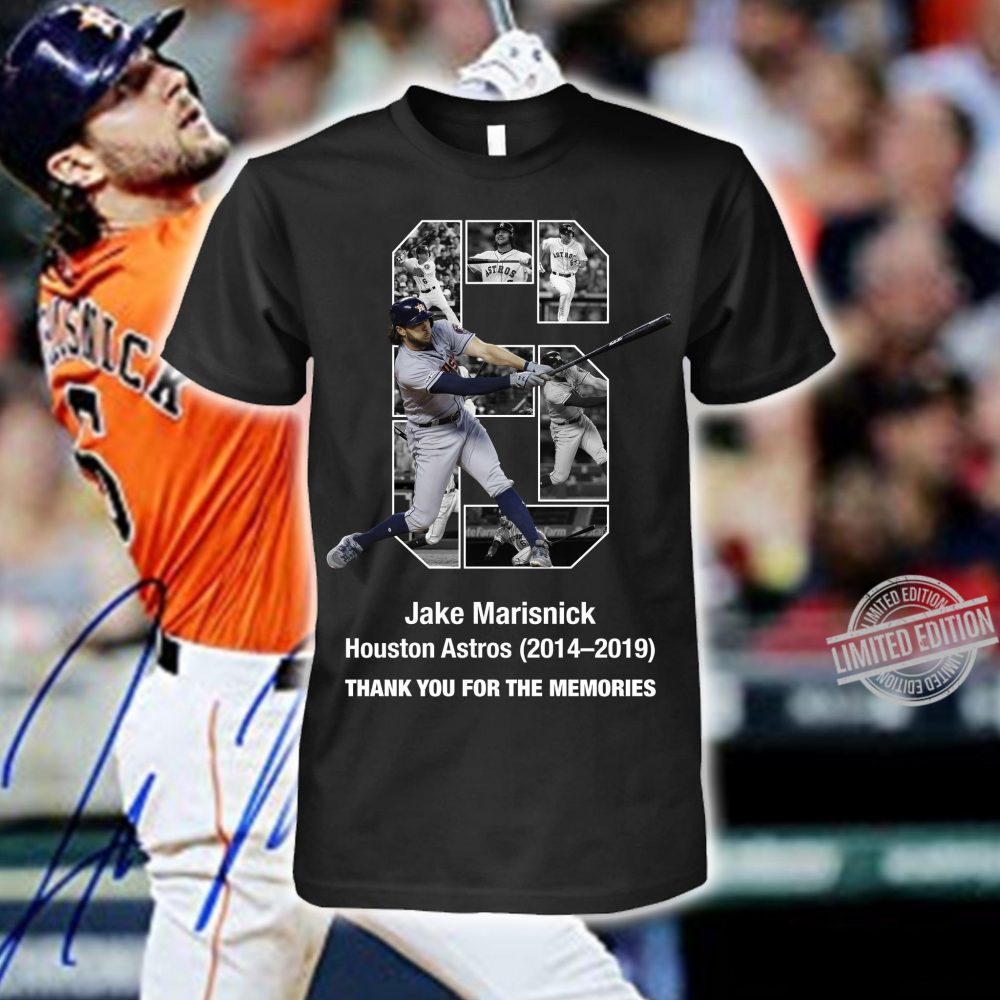 Jake Marisnick Houston Astros Thank You For The Memories Shirt