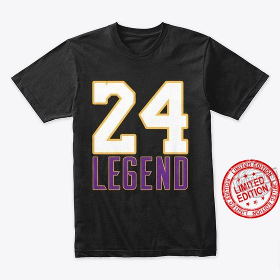 Legend Number 24 24th Birthday Married Since 2024 Shirt