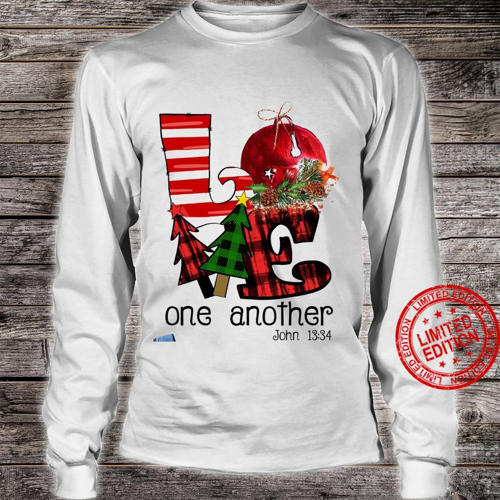 Love One Another John 13 34 Shirt long sleeved
