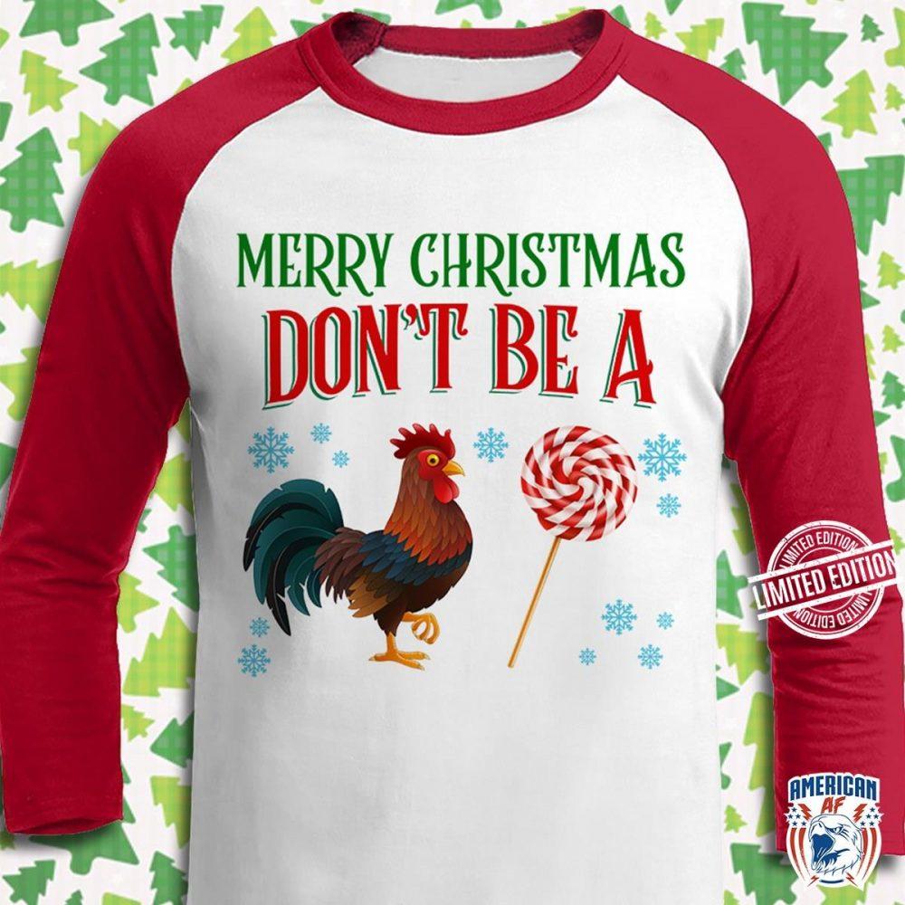 Merry Christmas Don't Be A Sucker Shirt