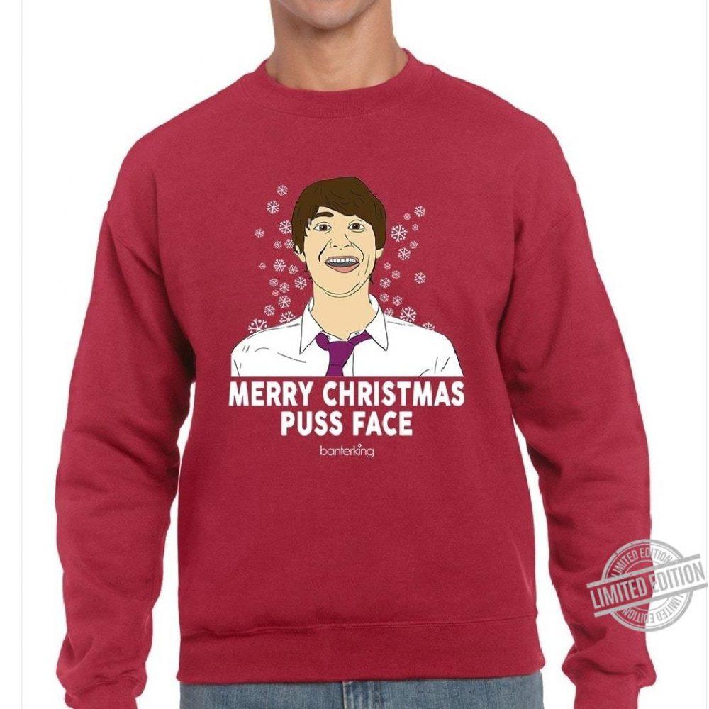 Merry Christmas Puss Face Shirt