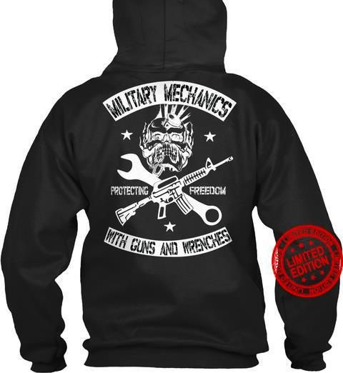 Military Mechanics With Guns And Wrenches Shirt