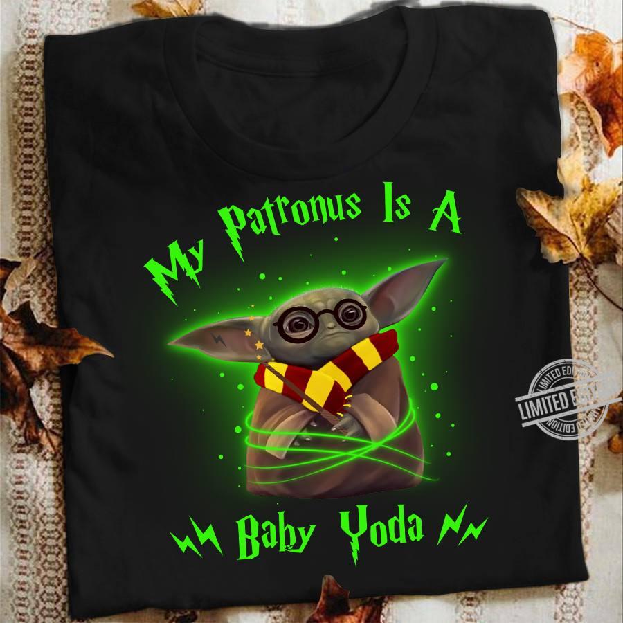 My Patronus Is A Baby Yoda Shirt