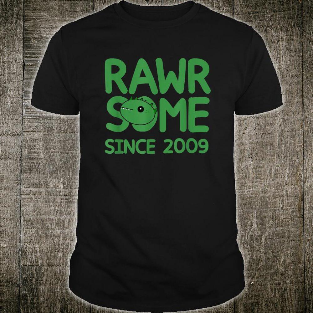 Rawrsome since 2009 shirt