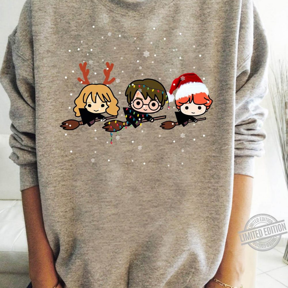 Santa Harry Potter Christmas Light Shirt