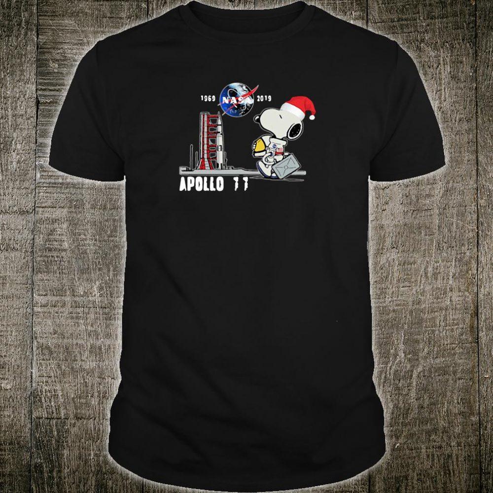 Snoopy Astronaut Apollo 11 1969 2019 Nasa shirt