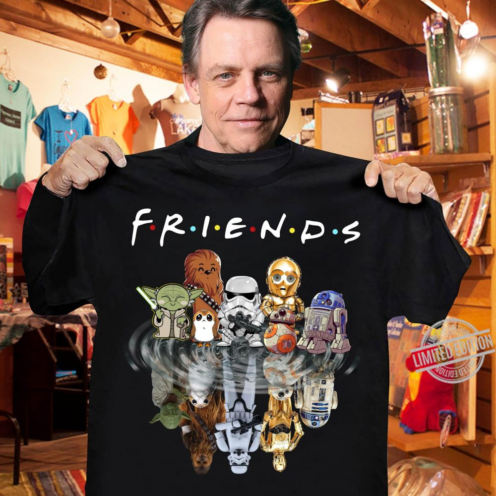 Star Wars Friends In The Water Shirt