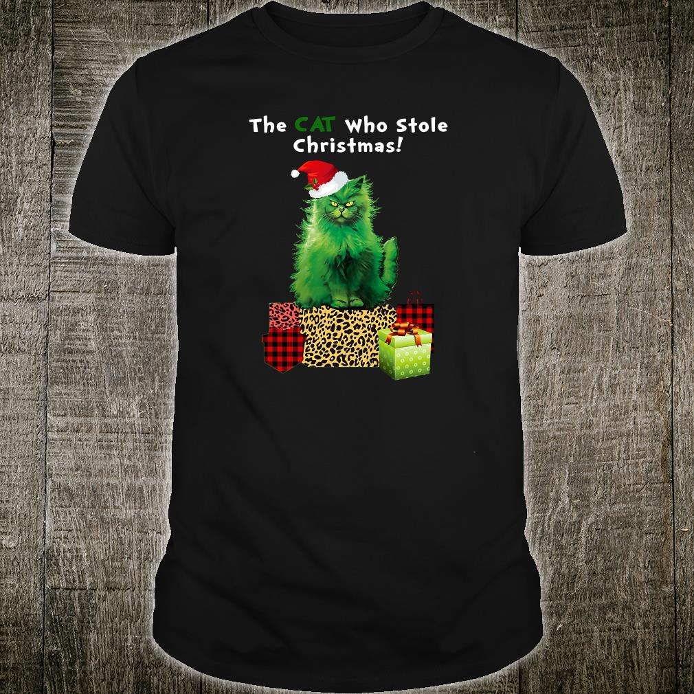 That cat who stole Christmas shirt