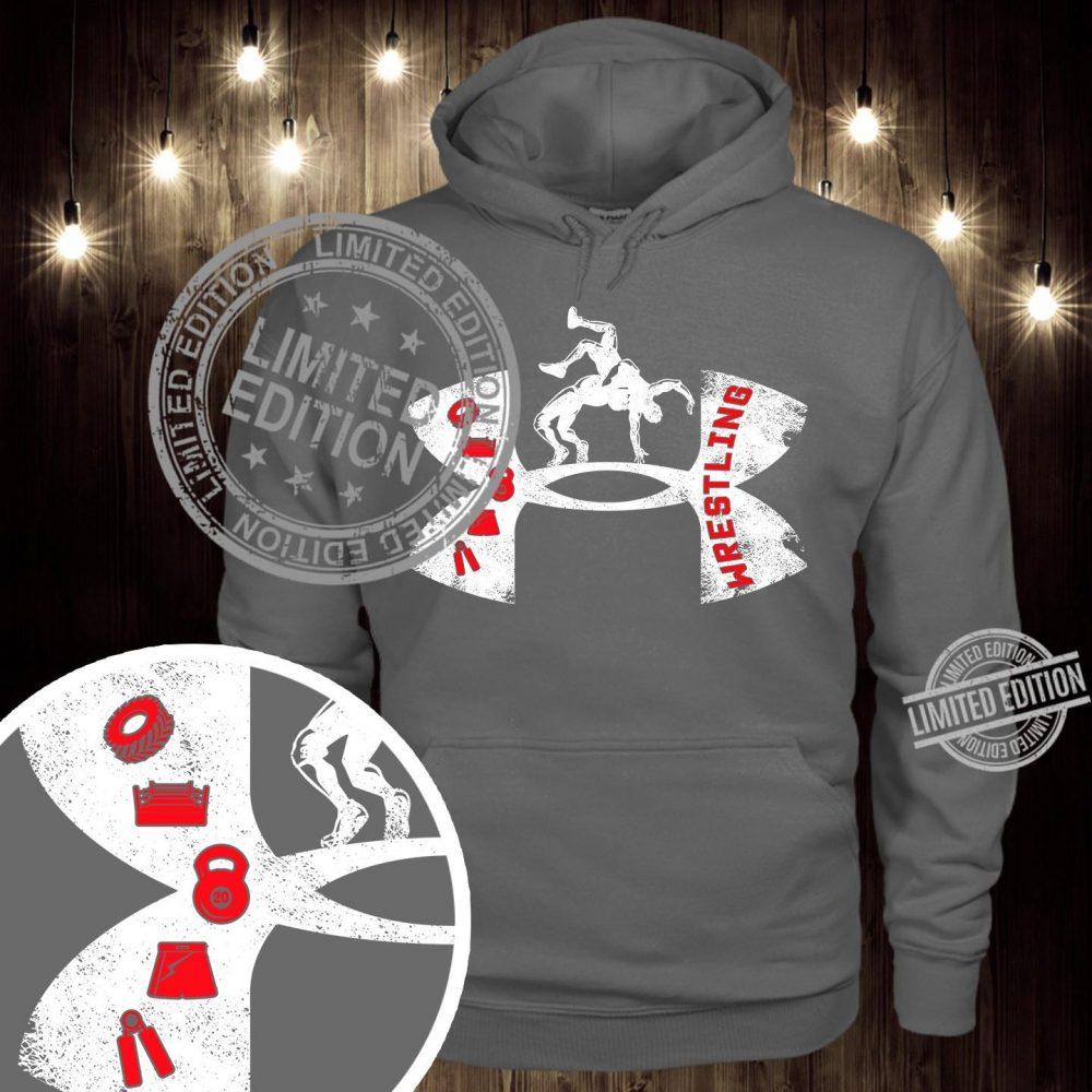Under Armour Logo Wrestling Shirt