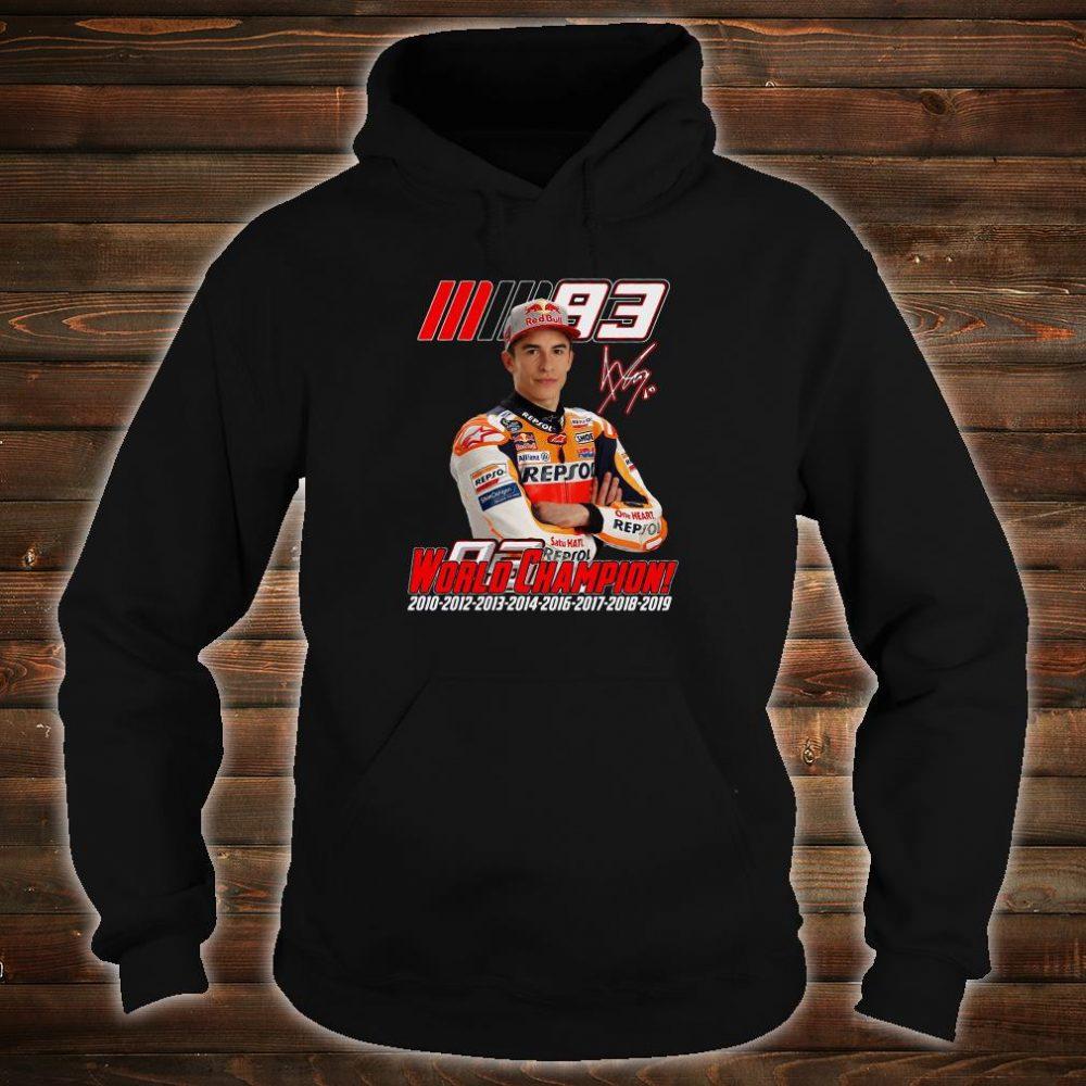 World Champion shirt hoodie