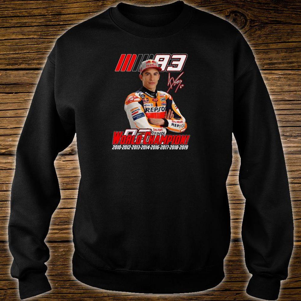 World Champion shirt sweater